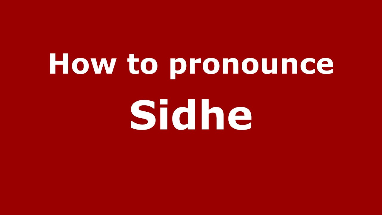 How to pronounce Sidhe (Irish/Savannah, Georgia, US) - PronounceNames com