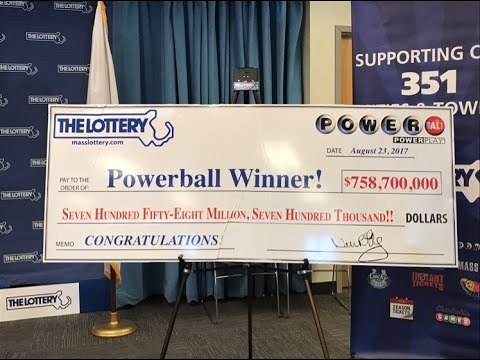 Chicopee, Massachusetts big Powerball winner