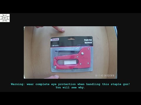 Dollar Delight: Ersatz Staple Gun
