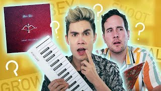 We Tried Writing a Song from TOTALLY RANDOM WORDS… (Songwriting Challenge w/ Sam & Casey!)