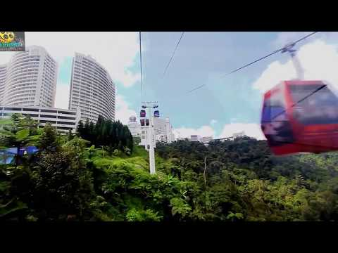 Awana Skyway  (Genting Cable Car) Experience -  Genting Highlands, Malaysia