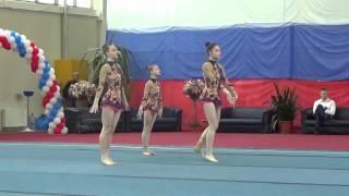 25.04.2016. Первенство России по спортивной акробатике