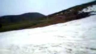 八甲田の夏スキー