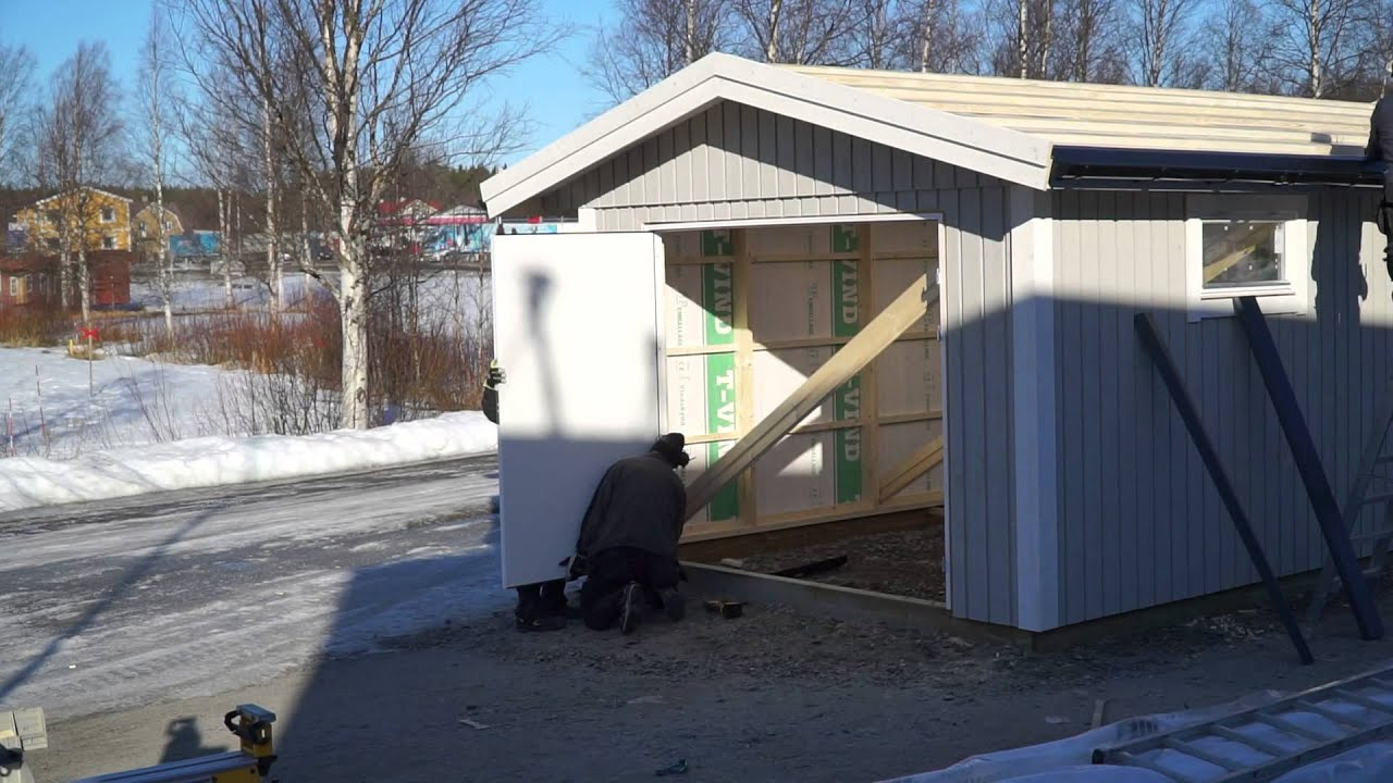 bygga enkelt garage