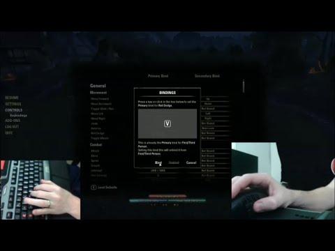 Keybinding Setup for The Elder Scrolls Online