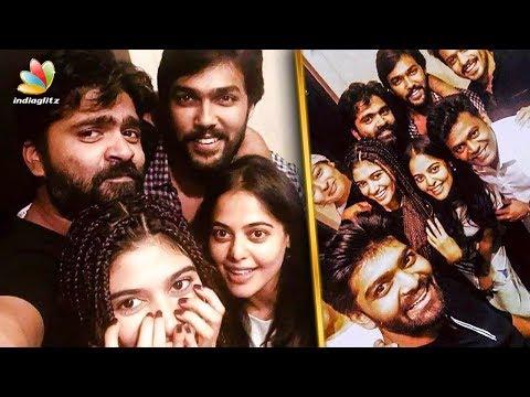 Str's Party Time with Bigg Boss Team | Oviya, Aarav, gayathri | Hot Tamil Cinema News thumbnail