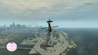 GTA IV PC Gameplay Video HD Highest Details on 9600GT Windows 7