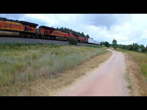 Bike Ride on the New Santa Fe Trail - Colorado Springs, CO