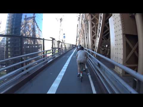 Cool Ride to Roosevelt Island (time lapse)