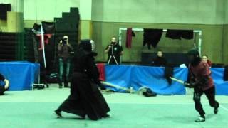 Knight vs Samurai Hema vs Kenjutsu