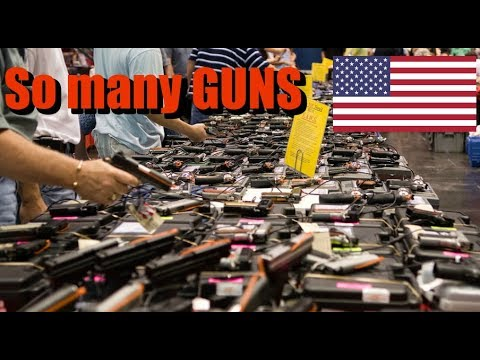 Visiting A GUN Show In The USA