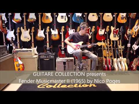 GUITARE COLLECTION presents Fender Musicmaster II from 1965 by Nico Poges