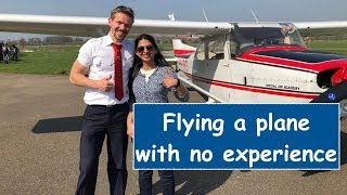 My first time flying a plane | How To Fly A Plane
