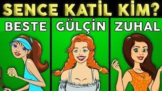 Türkiye'nin En Zor 3 Gizem Sorusunu Sadece %2 Zeki ÇÖZEBİLİR