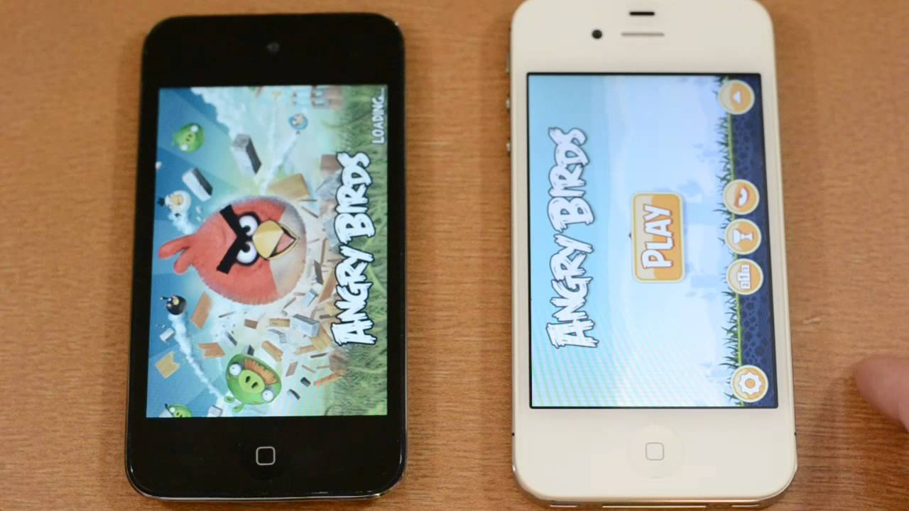 IPhone 4S Vs IPod Touch 4G