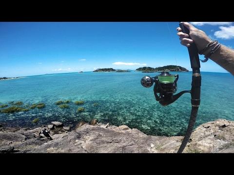 Fishing a Tropical Island
