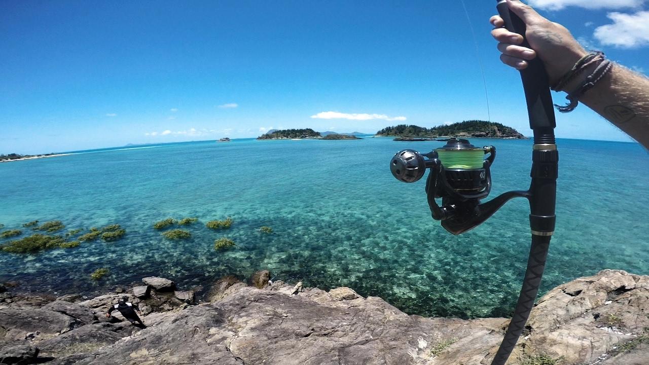 Fishing A Tropical Island Youtube
