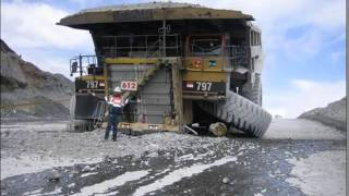 Heavy Equipement Disasters, Mining Truck Accidents, Truck Wreck Compilations