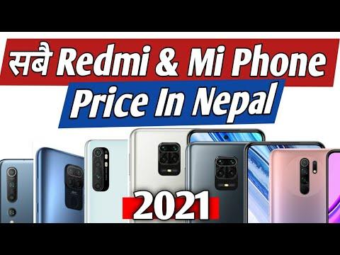 All Redmi & Mi Phone Price In Nepal 2021 | Xiaomi Phone Price In Nepal | Redmi Phone Price In Nepal