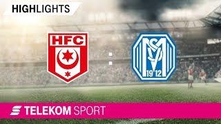 Hallescher FC - SV Meppen | Spieltag 14, 18/19 | Telekom Sport