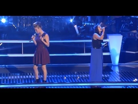 Caro Vs. Sara - Thinking Of You | The Voice Of Germany 2013 | Battle