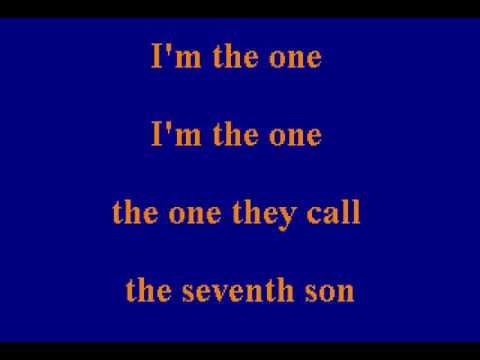 Johnny Rivers - Seventh Son - Karaoke