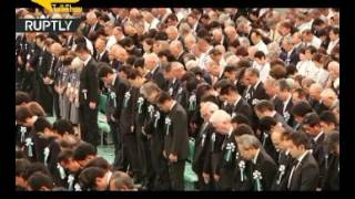 شاهد.. اليابان تحيي الذكرى الـ 71 لاستسـلامها بالحرب العالمية الثانية