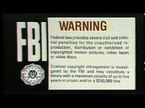 FBI intro Movie ident (1994)