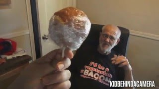 Angry Grandpa Is On Helium - The Caramel Onion Prank (100TH VIDEO!)
