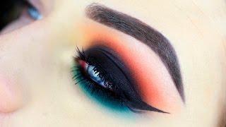 rainbow smokey eye morphe 12p palette