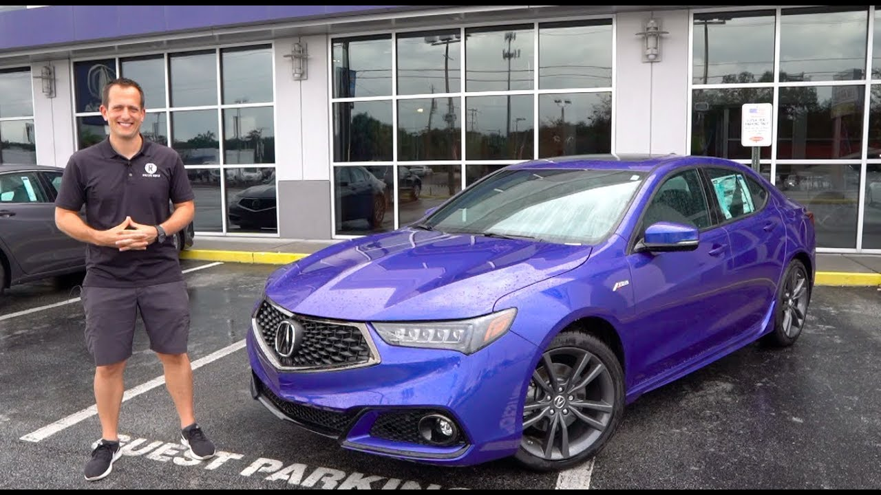 Is The 2020 Acura Tlx A Spec A Good Midsize Luxury Car To Buy Youtube