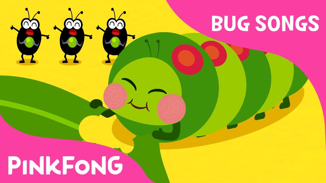 caterpillar song preschool hungry caterpillars bug songs pinkfong songs 395