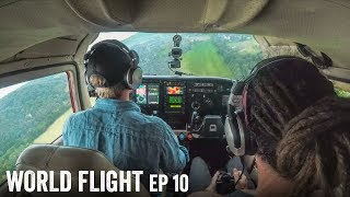 WE HAD TO DIVERT - World Flight Episode 10