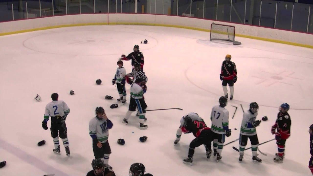 Midget hockey fight, free titty fuckf porn videos