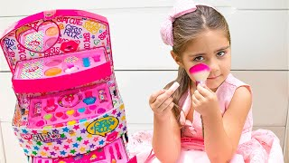 Nastya and Mia want a carriage for the princess