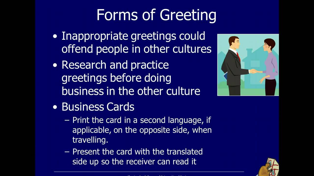 8 3 Culture International Business Practices Youtube