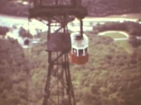 Cannon Mountain Old Tramway 1976 NH