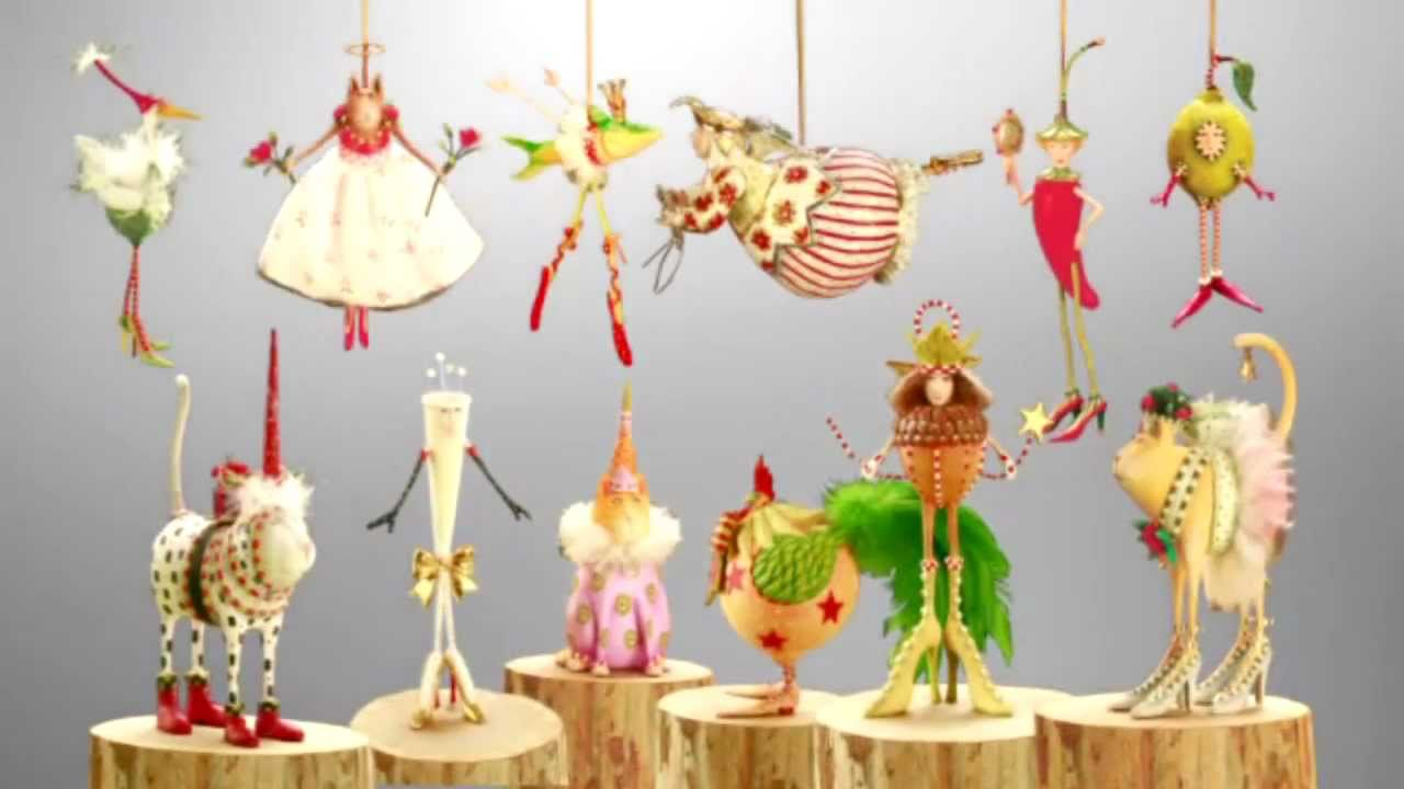 Patience Brewster Krinkles Ornaments 2011 - YouTube