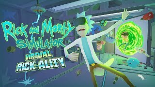 Rick & Morty IN VIRTUAL REALITY | Rick & Morty VR | Oculus Rift + Touch Controllers