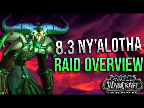 8.3 Warlock Ny'alotha Raid Review And What To Expect! Specs, Builds, Traits and More!