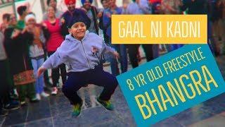 Parmish Verma I GAAL NI KADNI I 8 year old Bhangra I Bhangra Around the World I Pacific Mall Delhi