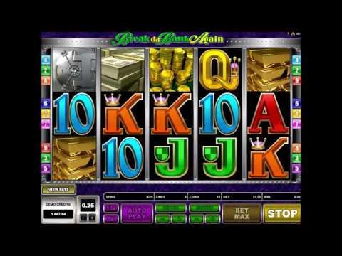 Видео-обзор игрового автомата Break Da Bank Again (Сорви Банк Снова) от Microgaming - Joycasino