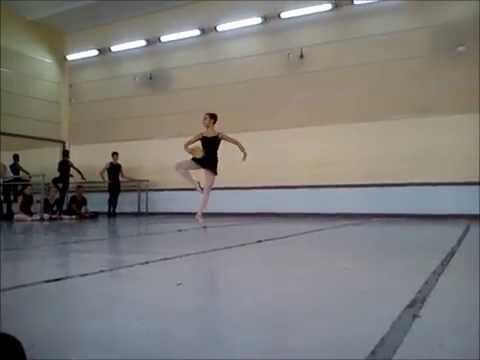 "Esmeralda variation, rehearsal. Cuban National Ballet School ""Fernando Alonso"""