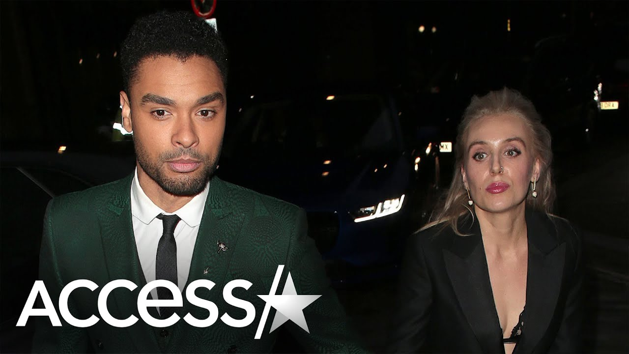 Regé-Jean Page Holds Hands w/ Girlfriend Emily Brown At GQ Awards
