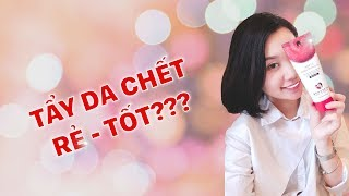 [SKINCARE ROUTINE] Thử tẩy da chết ngon - bổ - rẻ? | Review by Jen