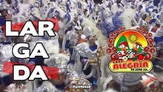 Alegria da ZS 2016 - Bateria (Largada) - Desfile