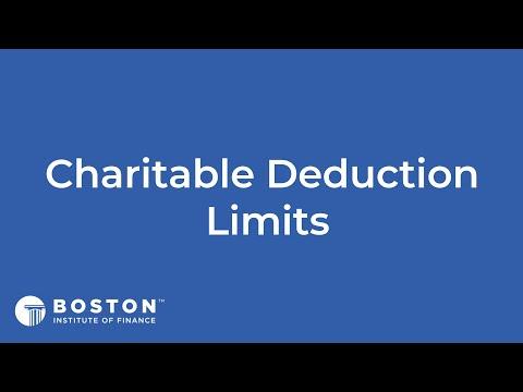 Mini Bite: Charitable Deduction Limits