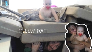 MAKING PILLOW FORTS