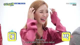 ENGSUB Weekly Idol EP391 Luna (f(x)), Lee Min-hyuk (BtoB)