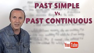 Past Simple Vs Past Continuous (updated).